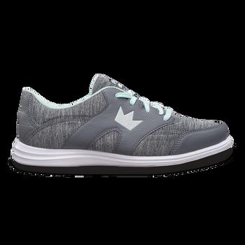 Brunswick Karma Sport Womens Bowling Shoes Grey/Mint