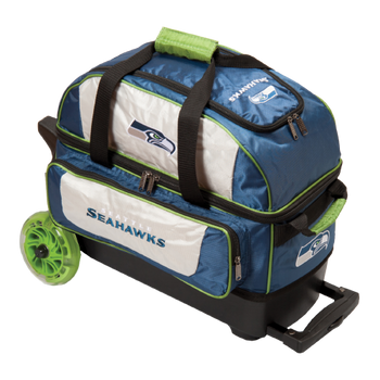 KR Strikeforce NFL Seattle Seahawks 2 Ball Roller Bowling Bag