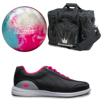Brunswick Womens Target Zone Ball, Bag and Shoes Package