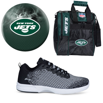 New York Jets Ball, Bag and Shoes Mens Package