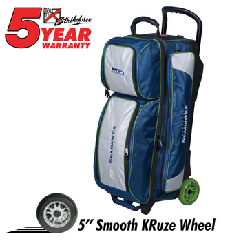 KR Strikeforce NFL Seattle Seahawks Triple Roller Bowling Bag