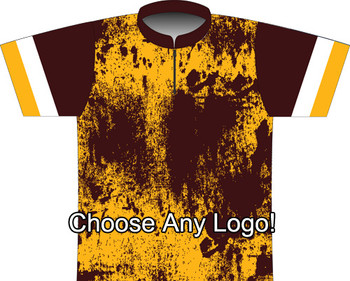 BBR Washington Grunge Dye Sublimated Jersey