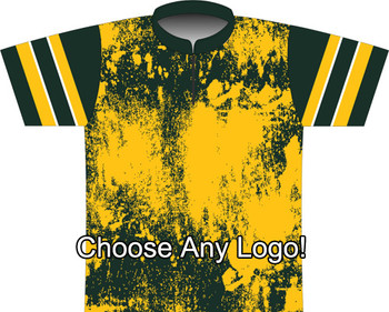 BBR Green Bay Grunge Dye Sublimated Jersey