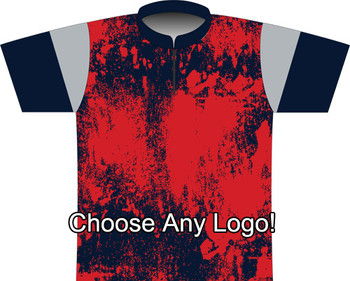 BBR New England Grunge Dye Sublimated Jersey