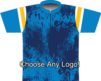 BBR Los Angeles A Grunge Dye Sublimated Jersey
