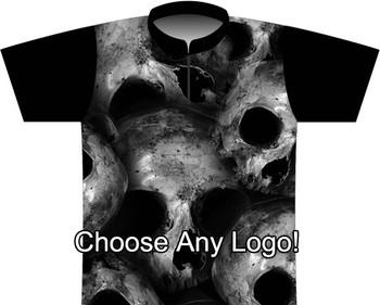 BBR Large Skulls Dye Sublimated Jersey