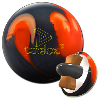 Track Paradox V Black Bowling Ball and core