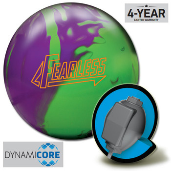 Brunswick Fearless Bowling Ball and core