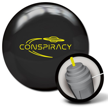 Radical Conspiracy Bowling Ball and core