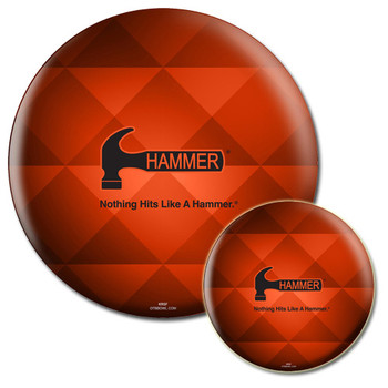 Hammer Triad Bowling Ball front and back