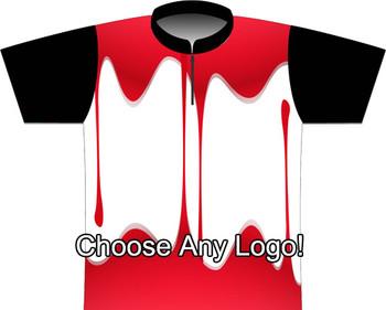 BBR Blood Splatter Dye Sublimated Jersey