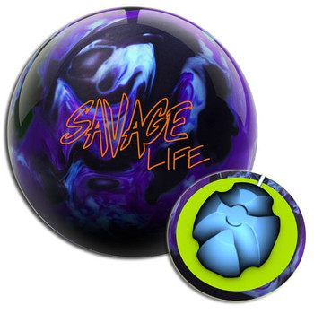 Columbia 300 Savage Life Bowling Ball and Core