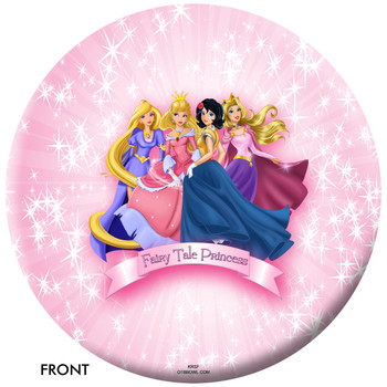 OTBB Disney's The Princesses Bowling Ball Front