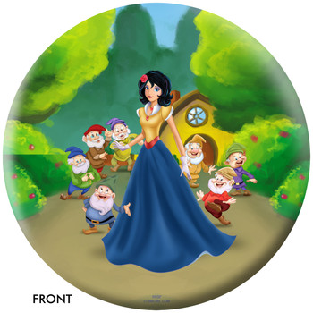 OTBB Disney's Snow White Bowling Ball front