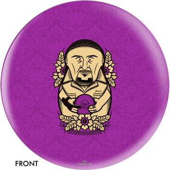 OTBB The Big Lebowski Purple Jesus Bowling Ball