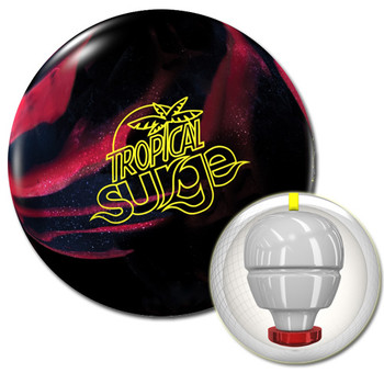 Storm Tropical Surge Bowling Ball Black/Cherry and core