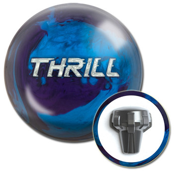 Motiv Thrill Blue/Purple Pearl Bowling Ball and Core