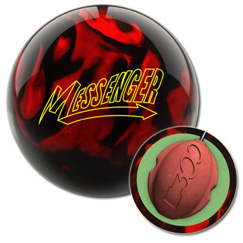 Columbia 300 Messenger Red/Black Bowling Ball and core