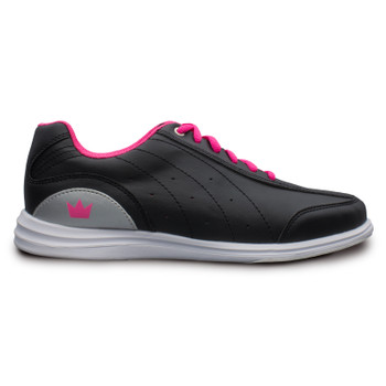 Brunswick Mystic Womens Bowling Shoes Black/Pink