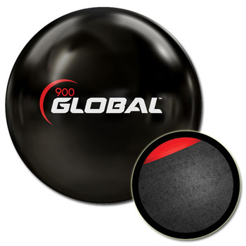 900 Global Clear Poly Bowling Ball and Core