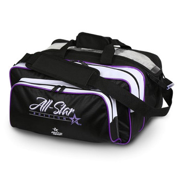 Roto Grip 2 Ball All-Star Edition Carryall Tote - Black/White/Purple