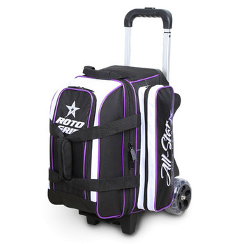 Roto Grip 2 Ball All-Star Edition Roller - Black/White/Purple