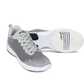 KR Strikeforce Aviator Mens Bowling Shoes Grey setup