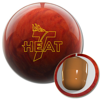Track Heat Lava Bowling Ball and Core