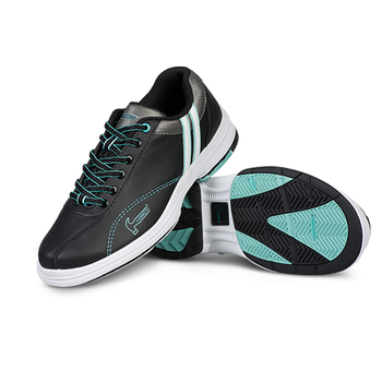 Hammer Vixen Womens Bowling Shoes Black/Mint Right Hand setup
