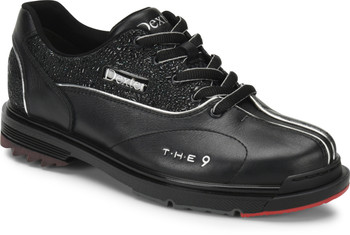 Dexter THE 9 Womens Bowling Shoes Black/Jeweled