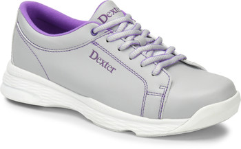 Raquel V Womens Bowling Shoes Ice/Violet Wide