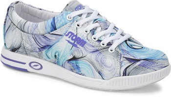 Storm Meadow Womens Bowling Shoes White/Purple/Multi