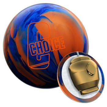 Ebonite The Choice Solid Bowling Ball  and Core