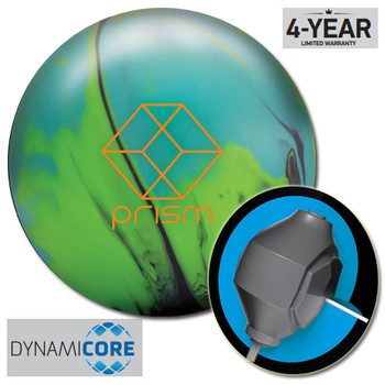 Brunswick Prism Solid Bowling Ball and core