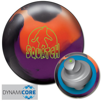 Radical Squatch Solid Bowling Ball and core