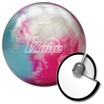 Brunswick Target Zone Frozen Bliss Bowling Ball