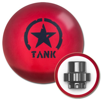 Motiv Tank Blitz Bowling Ball and core