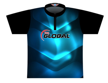 900 Global Bowling Jersey by Logo Infusion - 03019G - Front of Jersey