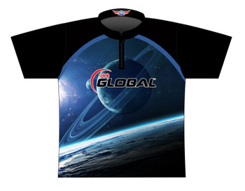 900 Global Bowling Jersey by Logo Infusion - 03029G - Front of Jersey
