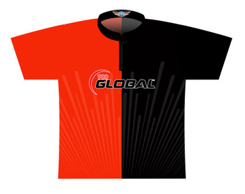 900 Global Bowling Jersey by Logo Infusion - 03039G - Front of Jersey