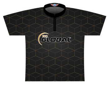 900 Global Bowling Jersey by Logo Infusion - 04799G - Front of Jersey