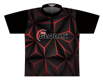 900 Global Bowling Jersey by Logo Infusion - 05019G - Front of Jersey