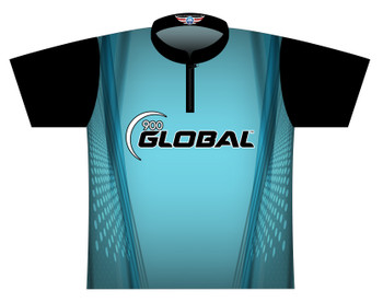 900 Global Bowling Jersey by Logo Infusion - 05199G - Front of Jersey