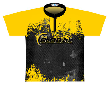 900 Global Bowling Jersey by Logo Infusion - 05209G - Front of Jersey