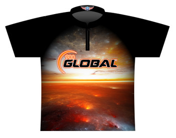 900 Global Bowling Jersey by Logo Infusion - 05739G - Front of Jersey