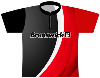 Brunswick Bowling Jersey by Logo Infusion - 0173BR - Front of Jersey