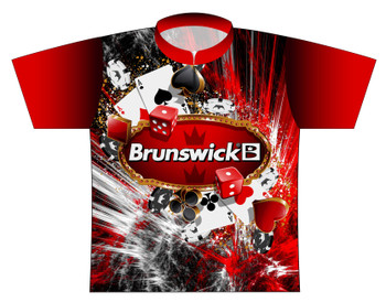 Brunswick Bowling Jersey by Logo Infusion - 0220BR - Front of Jersey