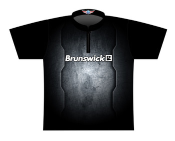 Brunswick Bowling Jersey by Logo Infusion - 0306BR - Front of Jersey