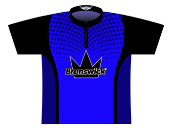 Brunswick Bowling Jersey by Logo Infusion - 0310BR - Front of Jersey