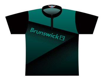 Brunswick Bowling Jersey by Logo Infusion - 0311BR - Front of Jersey
